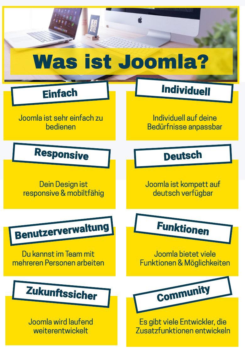 Was ist Joomla? Erklärung, Tipps & Tricks