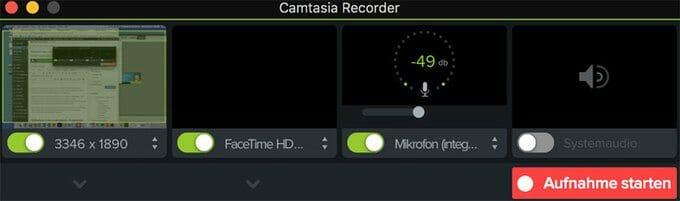 Mit dem Programm Camtasia kannst du professionelle Bildschirm Videos aufnehmen