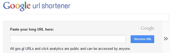 Google Link Shortener