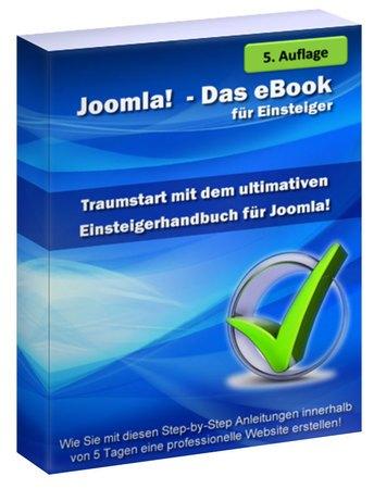 Das Joomla E-Book für Einsteiger ist ein Praxis-Handbuch und Tutorial, wie du eine Website mit Joomla erstellen kannst.