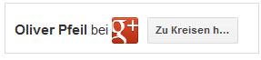 Google Plus auf Website einbinden