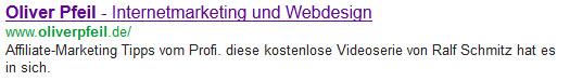 Google-Suche: ohne Google-Author Rank