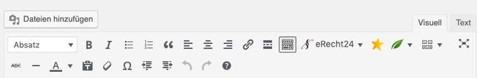 WordPress Editor Classic