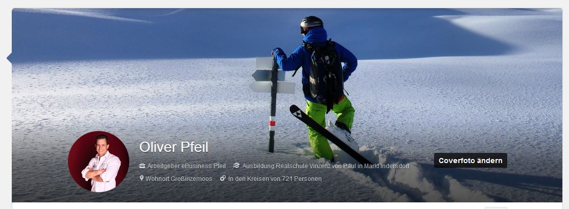 neues Google+ Profil nach Update