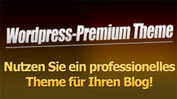 Nutzen Sie ein professionelles Theme für Ihren WordPress-Blog