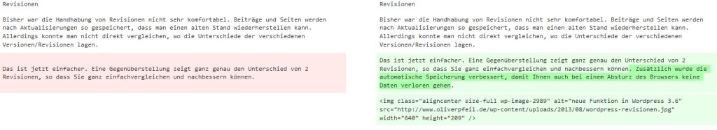 coole Funktion: WordPress-Revisionen