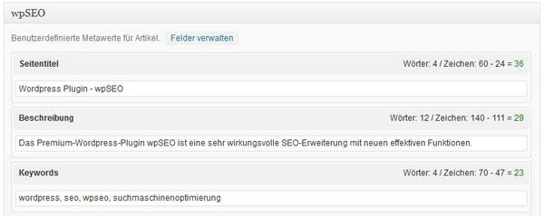 wpSEO: WordPress Plugin zur Suchmaschinenoptimierung