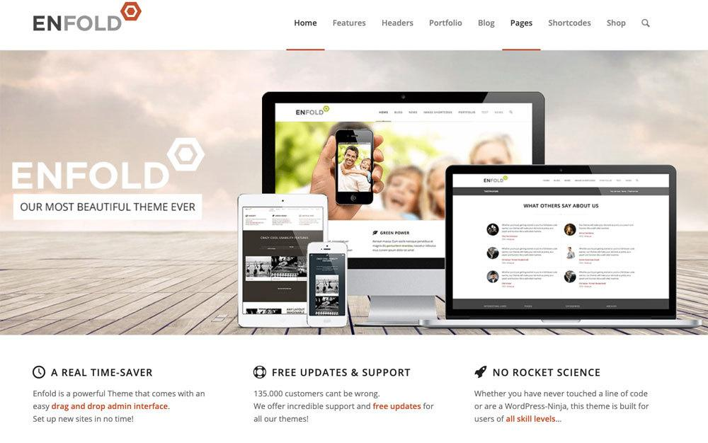 WordPress Vereins-Theme Enfold