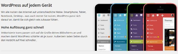 Durch das Update auf WordPress 3.8 sind Sie noch flexibler.