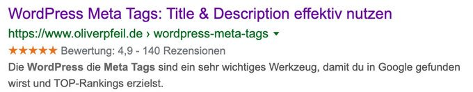 WordPress Meta Tags einfügen