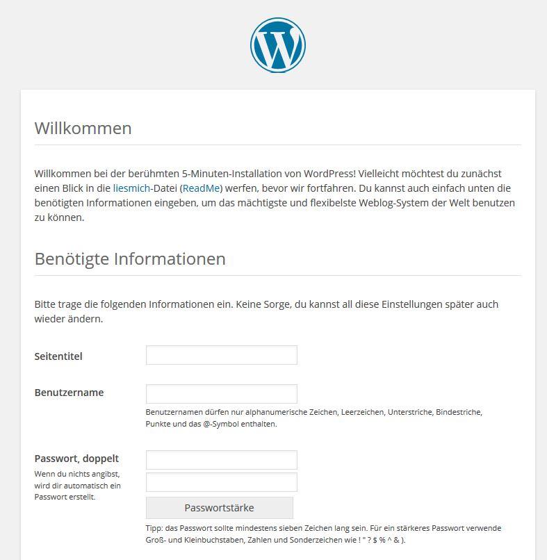 1und1 WordPress installieren: Schritt für Schritt Erklärung