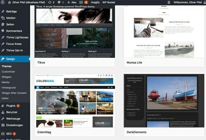 Schritt für Schritt Anleitung: WordPress Blog erstellen