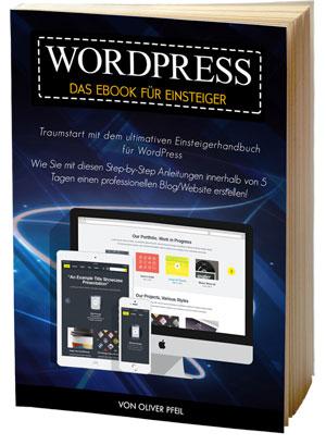 WordPress - das eBook für Einsteiger
