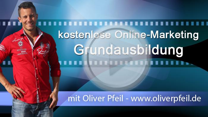 In dieser Online-Marketing-Grundausbildung von Oliver Pfeil erlernst Du alle wichtigen Internetmarketing Techniken.
