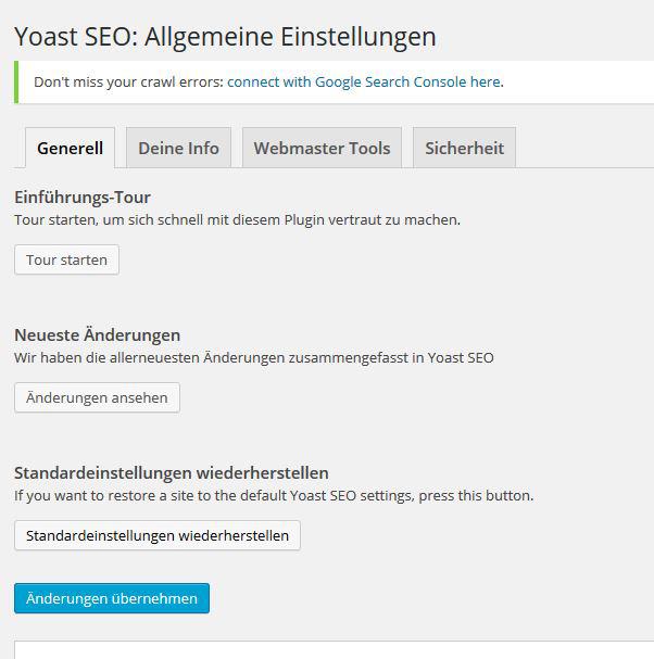 SEO-Optimierung für WordPress mit Yoast