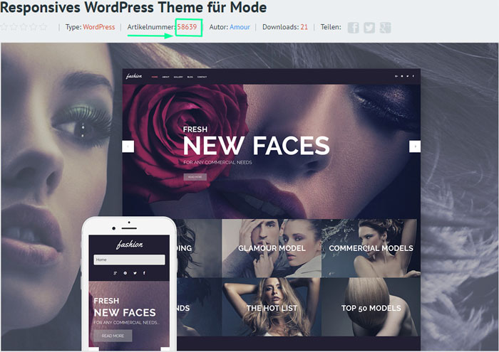 WordPress-Theme von TemplateMonster