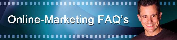 wichtige Online-Marketing FAQ's