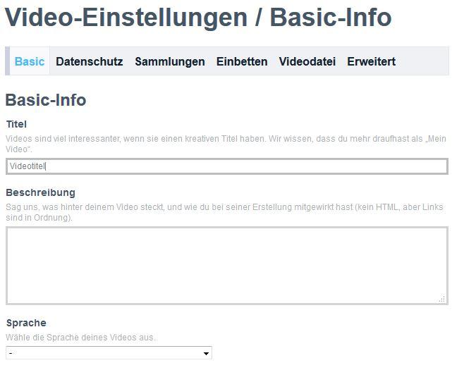 Vimeo als Hosting-Plattform