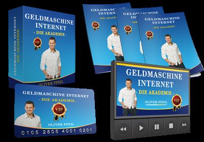 Geldmaschine Internet - die Akademie