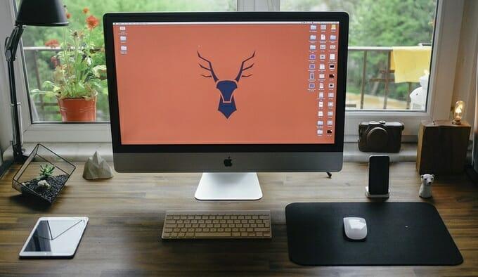 Ein Home Office hat nur kleine organisatorische Voraussetzungen