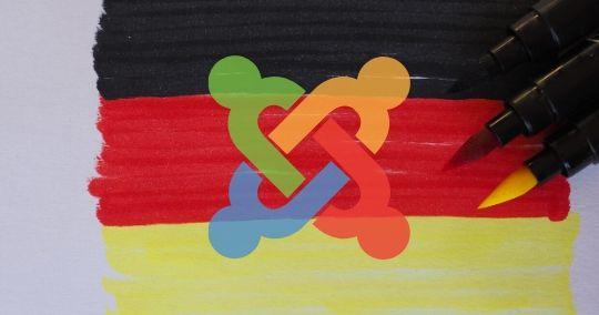 Joomla auf Deutsch installieren