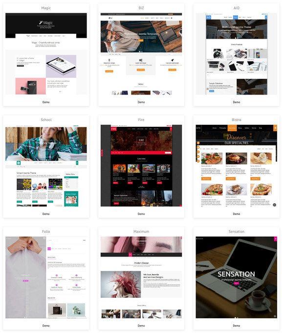 Joomla Templates free: Ein Design für deine Website