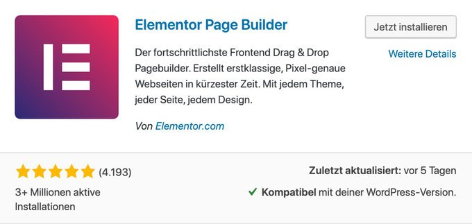 Elementor - WordPress Page Builder
