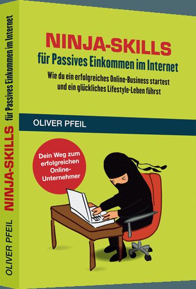 "Buch ""Ninja-Skills"" von Oliver Pfeil"
