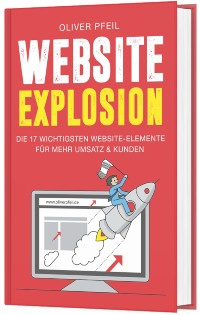 Buch Website Explosion (Cover)